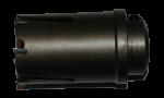 коронка с напайками Karnasch L=60мм для строительства