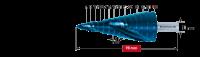 Ступенчатое сверло Karnasch, d=6-30