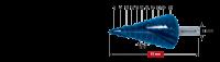Ступенчатое сверло Karnasch, d=6-36